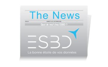Les nouveautés 2020 chez ESBD